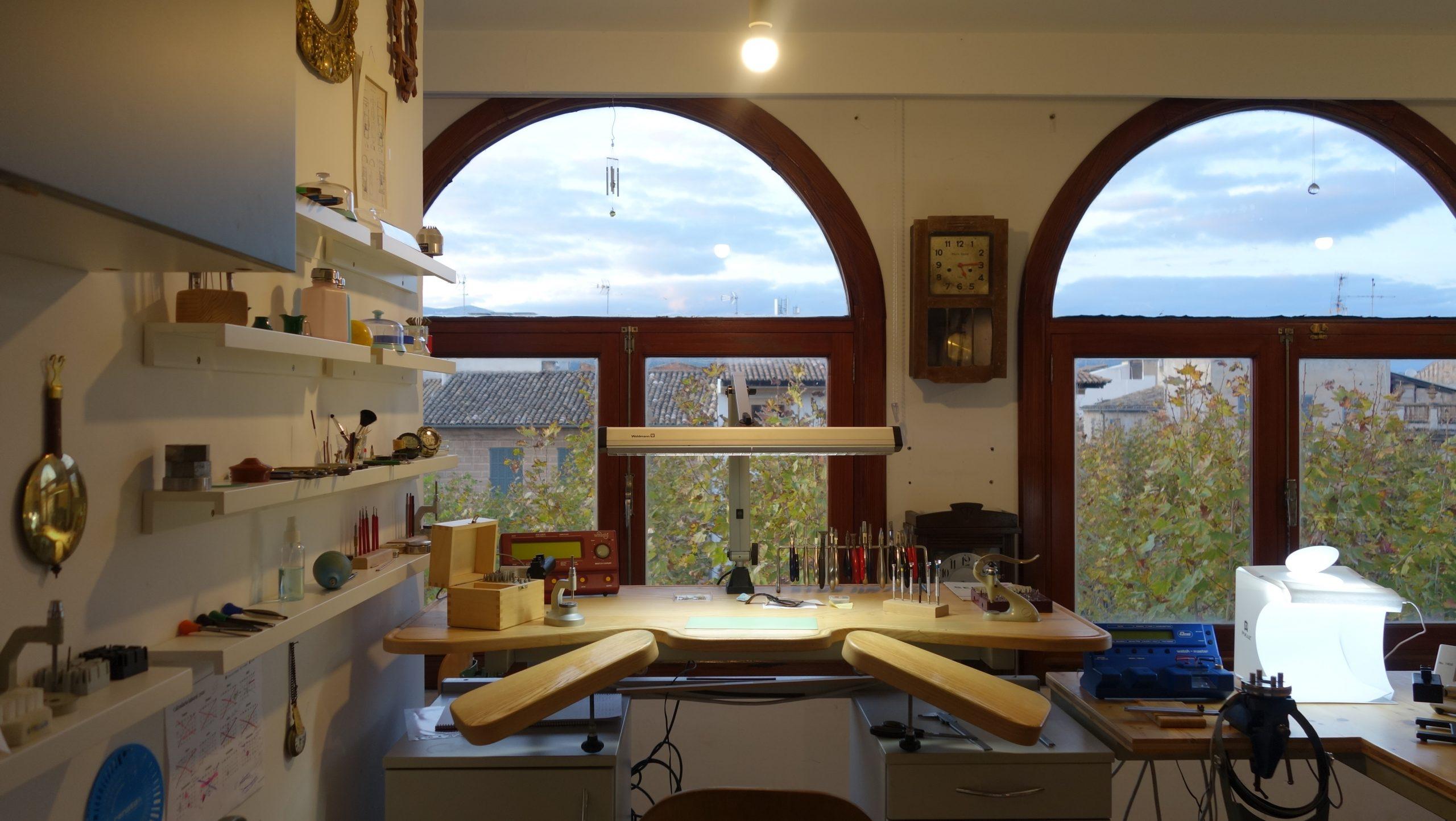 taller de relojeria en Mallorca