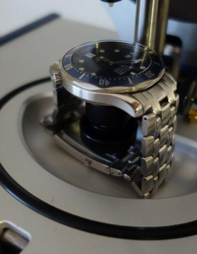 test hermetismo reloj omega